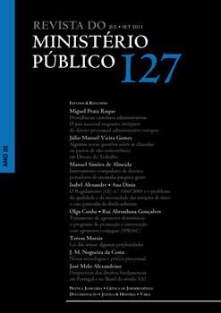 Revista do Ministério Público Nº 127