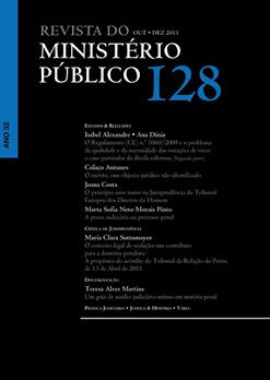 Revista do Ministério Público Nº 128
