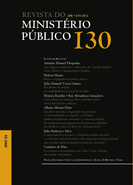 Revista do Minitério Público Nº 130