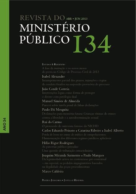 Índice do nº 134