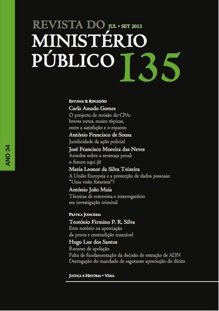 Índice do nº 135