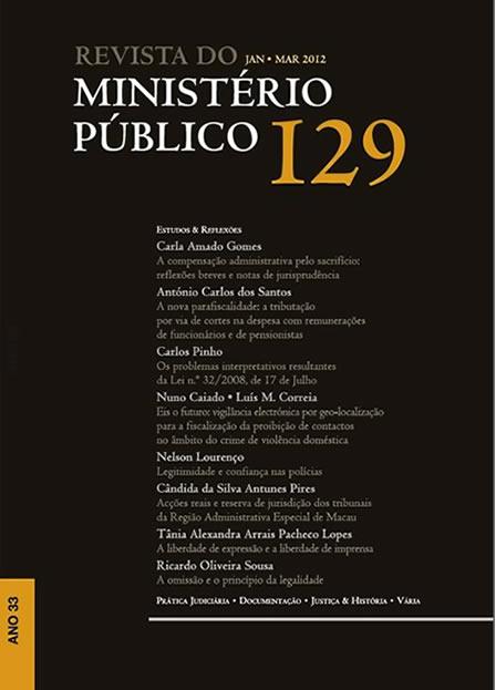 Revista do Ministério Público Nº 129