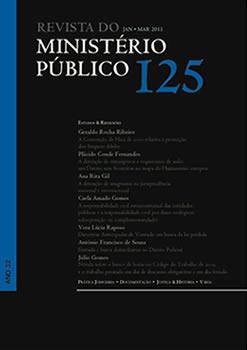 Revista do Ministério Público Nº 125