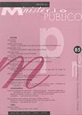 Revista do Ministério Público Nº 85