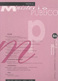 Revista do Ministério Público Nº 86