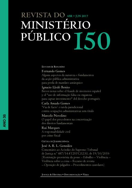 Índice do Nº 150