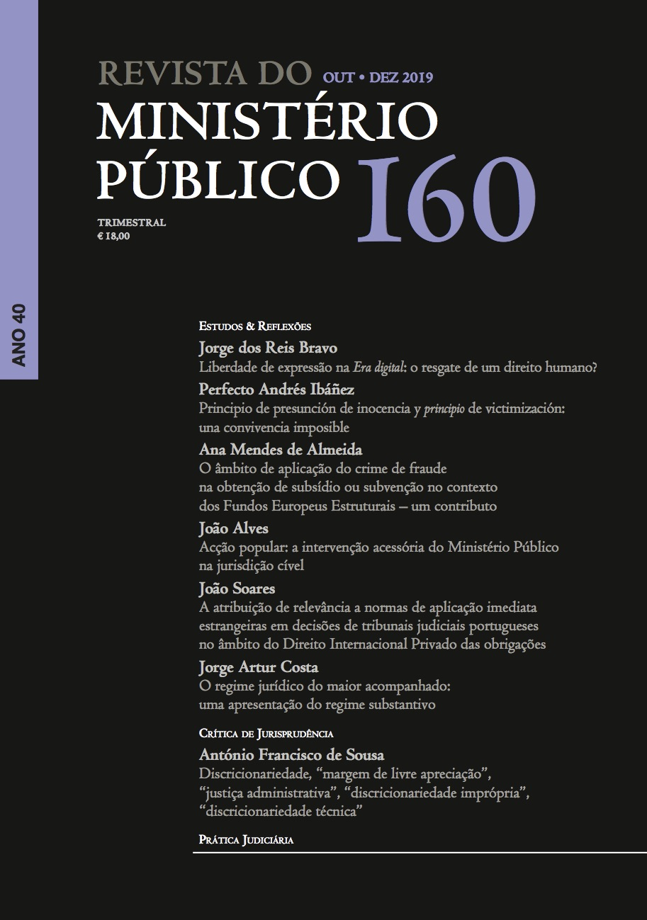 Revista do MInistério Público Nº 159