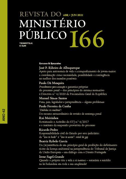 Revista do Ministério Público Nº 166